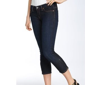 Lucky Brand Zoe Skinny Cropped Zip Ankle Jeans